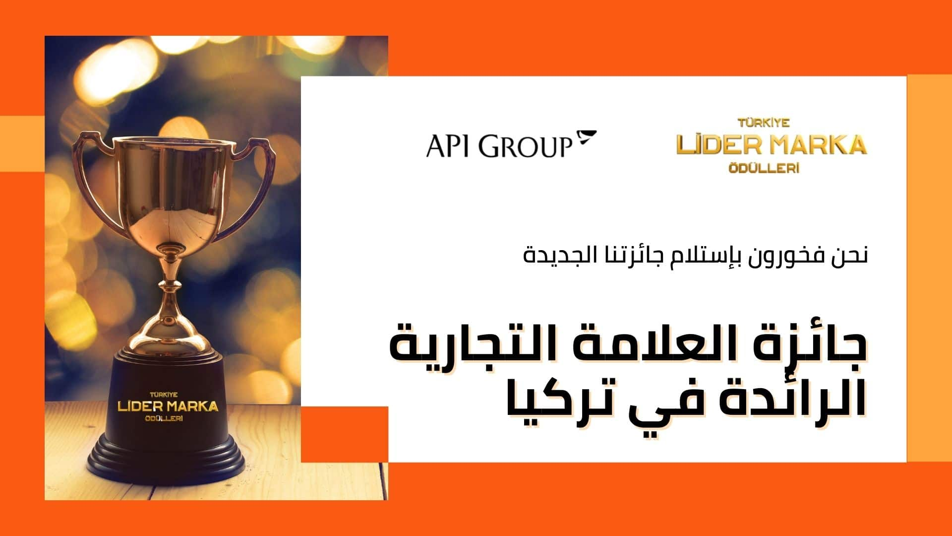 API GROUP AWARDS